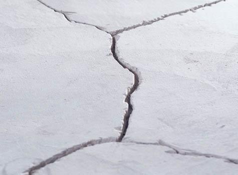 причины усадки бетона