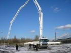 Использование бетононасоса в зимнее время
