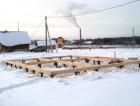 Строительство фундамента зимой – главные особенности