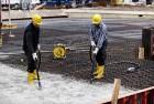 Уплотнение бетона методом вибрирования: преимущества вибрационного формования